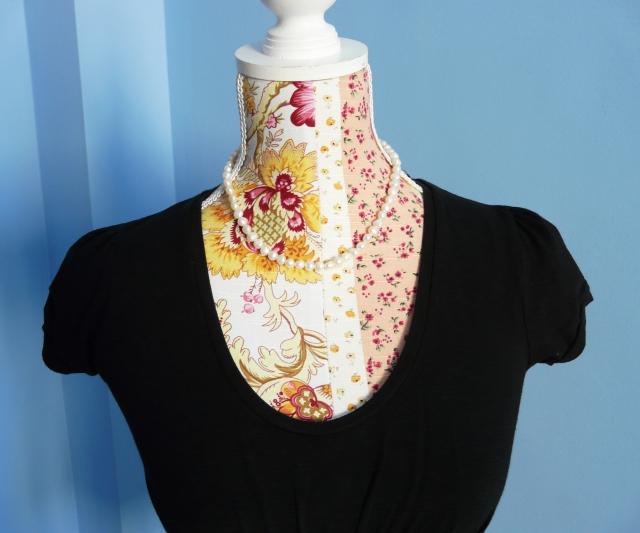 Camisa drapeada