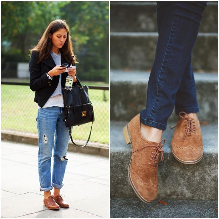 zapatos mujer zapatos mujer marrones oxford looj marrones oxford zapatos oxford looj RwZdSx7Sq