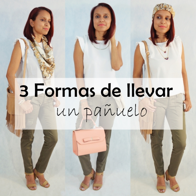 3 Formas de llevar un pañuelo