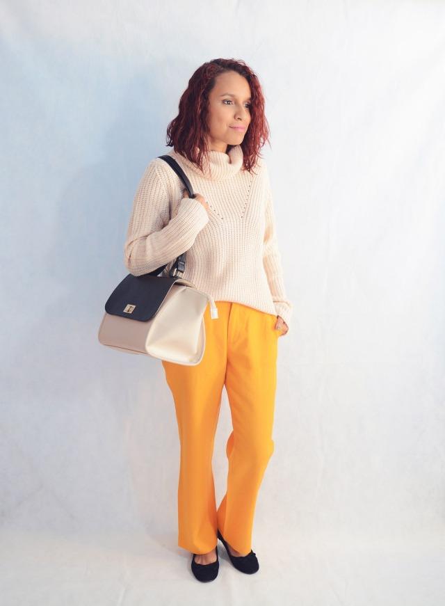 Combina pantalones naranja 1