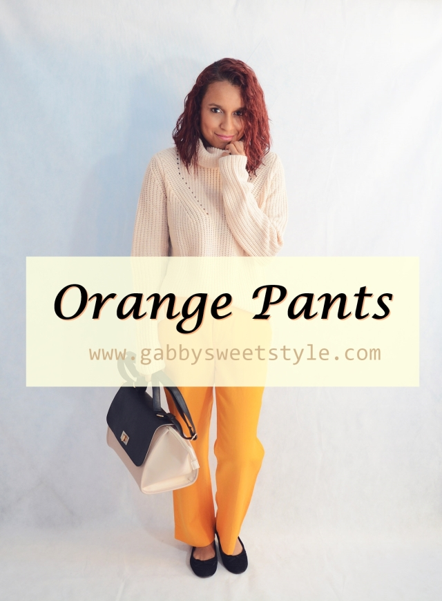 Combina pantalones naranja PORTADA
