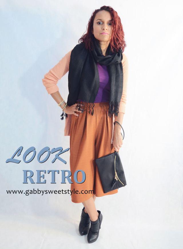 Look otoñal con pantalón culotte PORTADA
