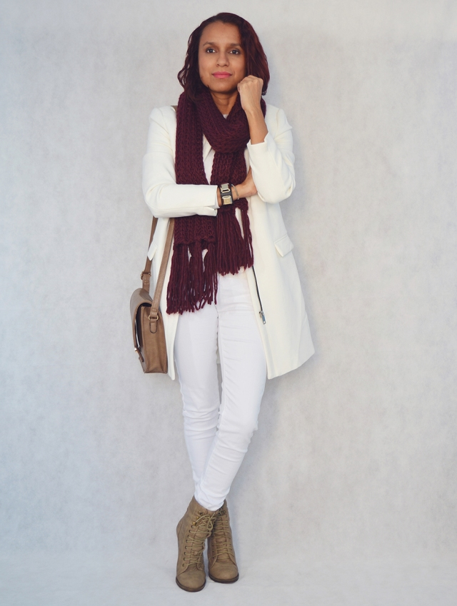Look total white 3