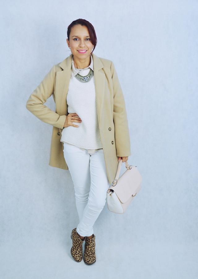 Look blanco y camel 2
