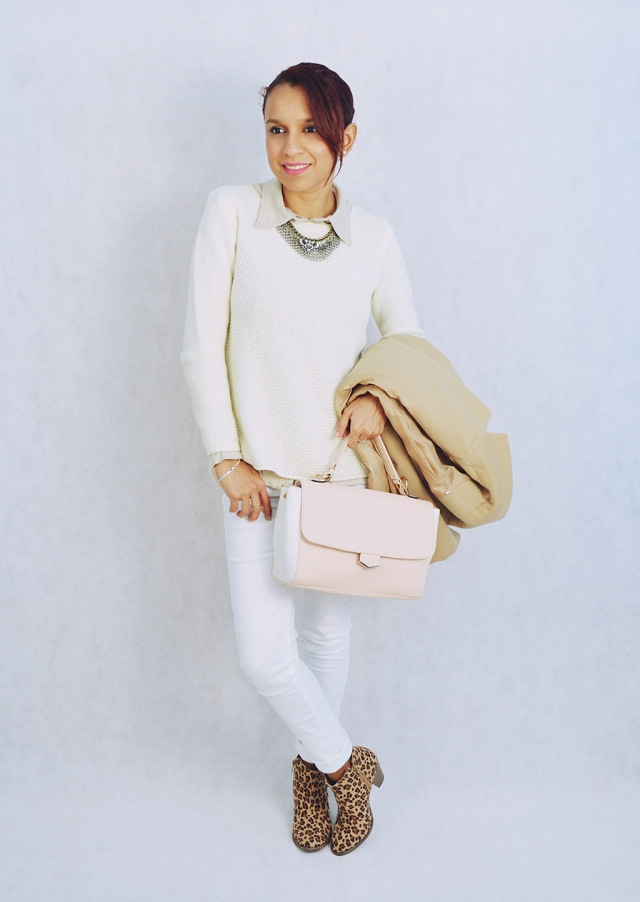 Look blanco y camel 4