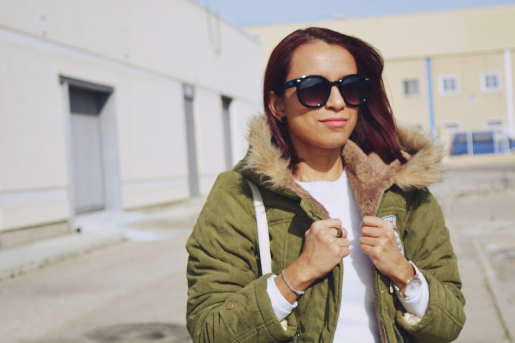 Look casual con parka 12