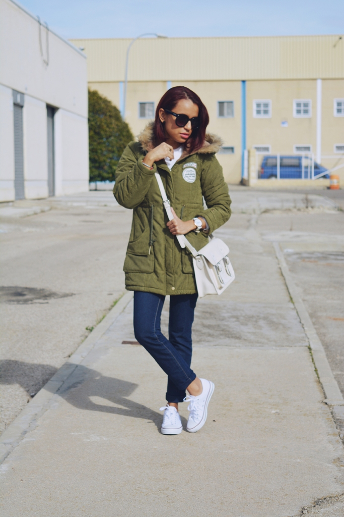 Look casual con parka 5
