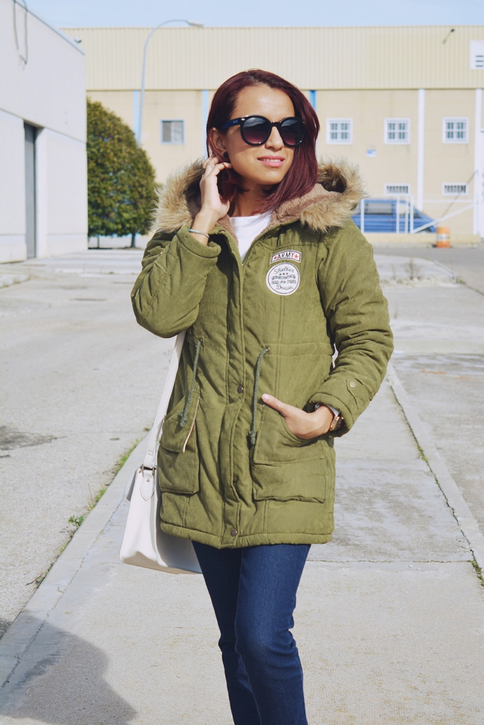 Look casual con parka 8