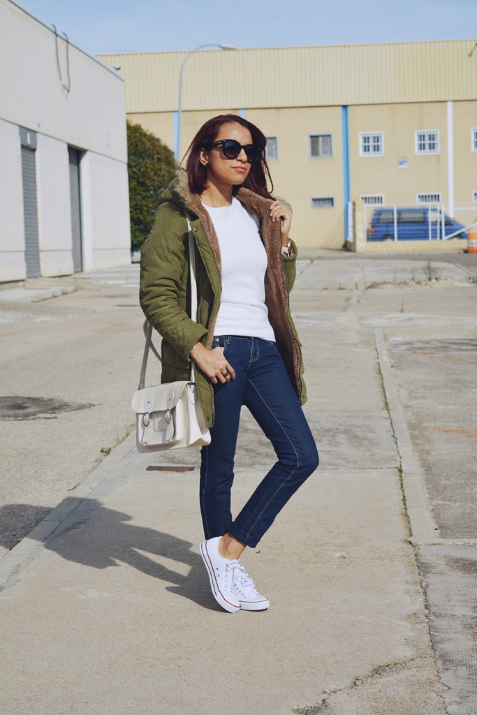 Look casual con parka 9
