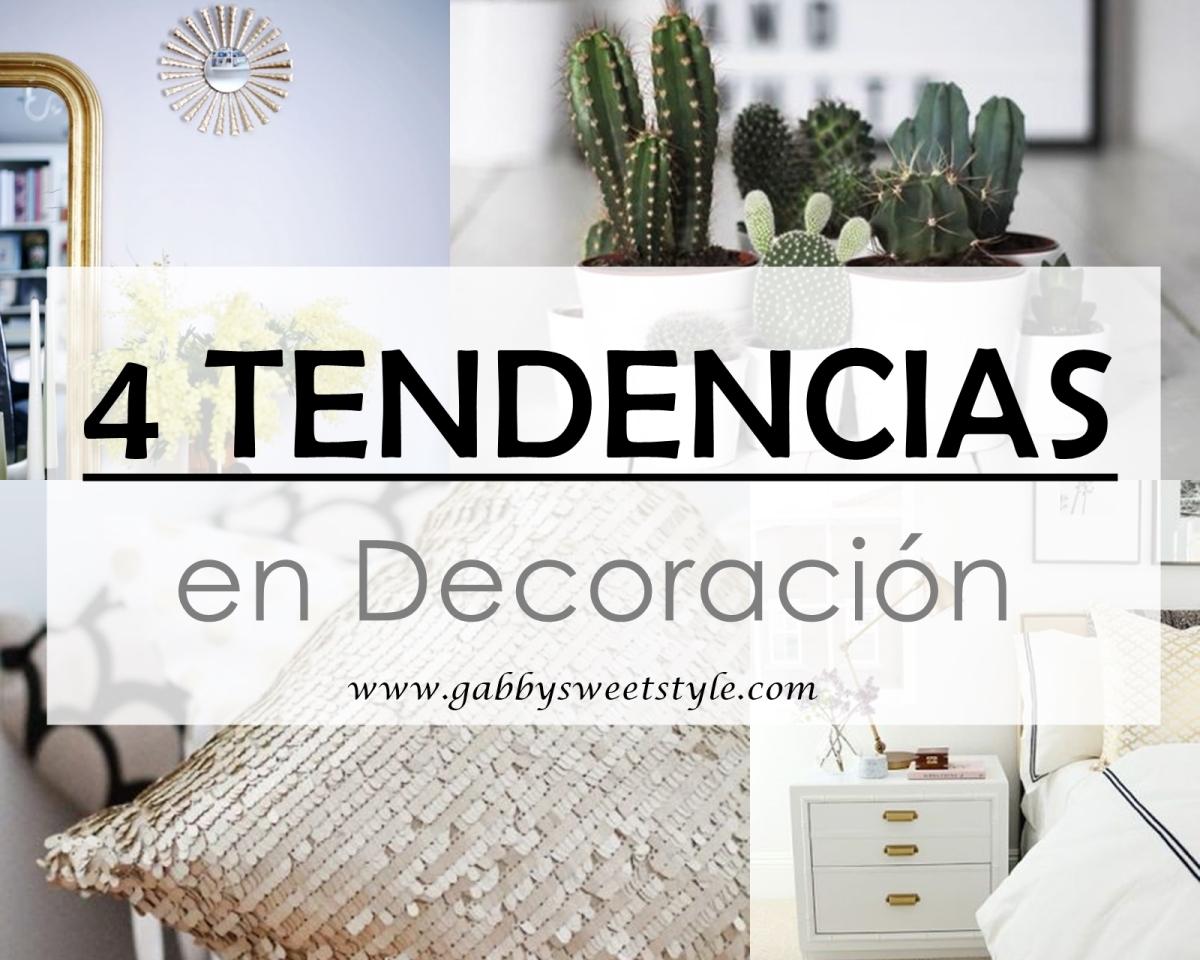 Últimas tendencias en decoración para el hogar
