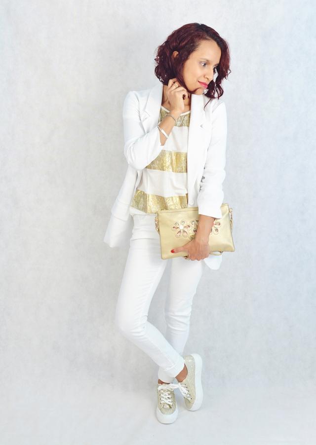 Blanco y dorado 10