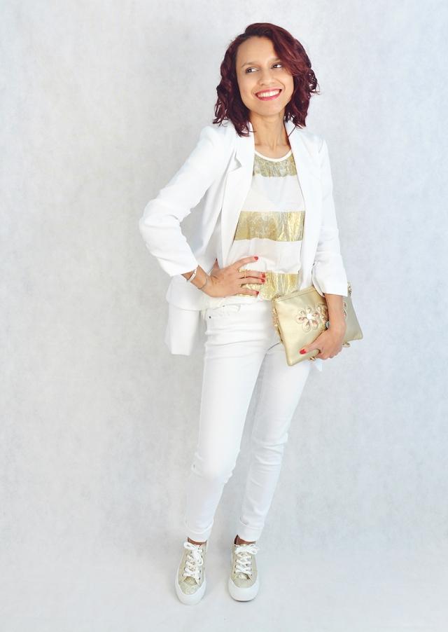 Blanco y dorado 9