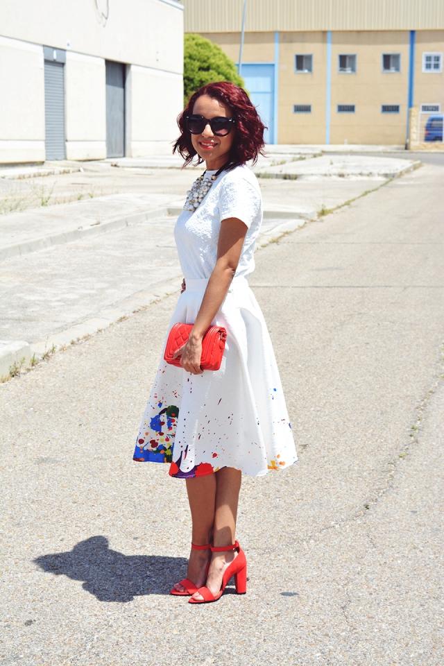 Look falda midi 2
