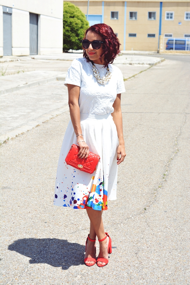 Look falda midi 6
