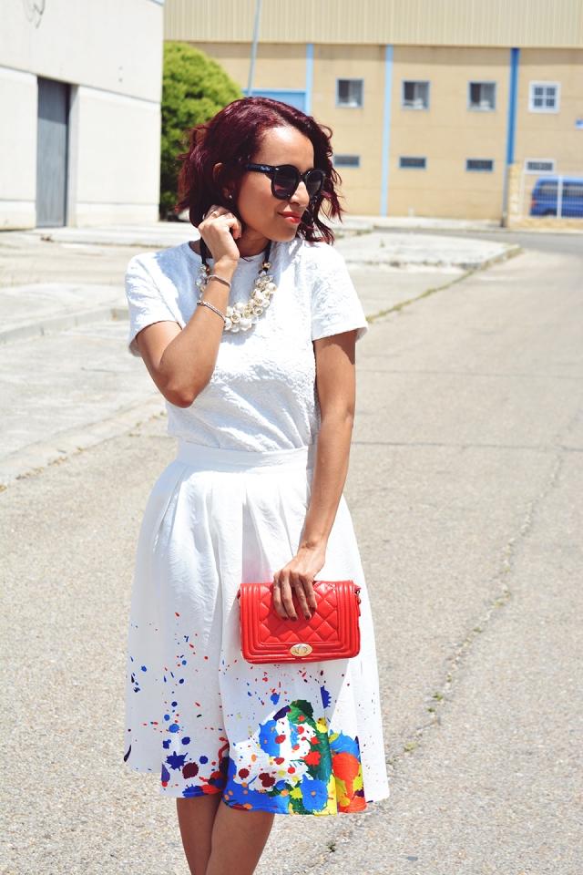 Look falda midi 8