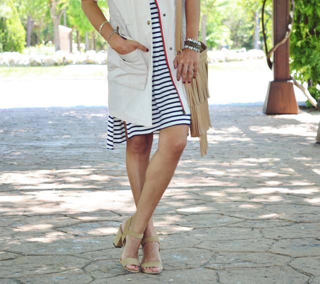 Vestido de rayas 5