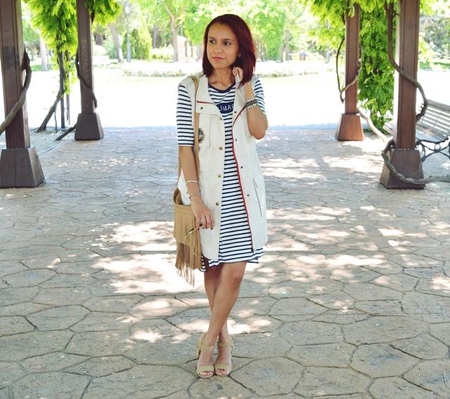 Vestido de rayas 7