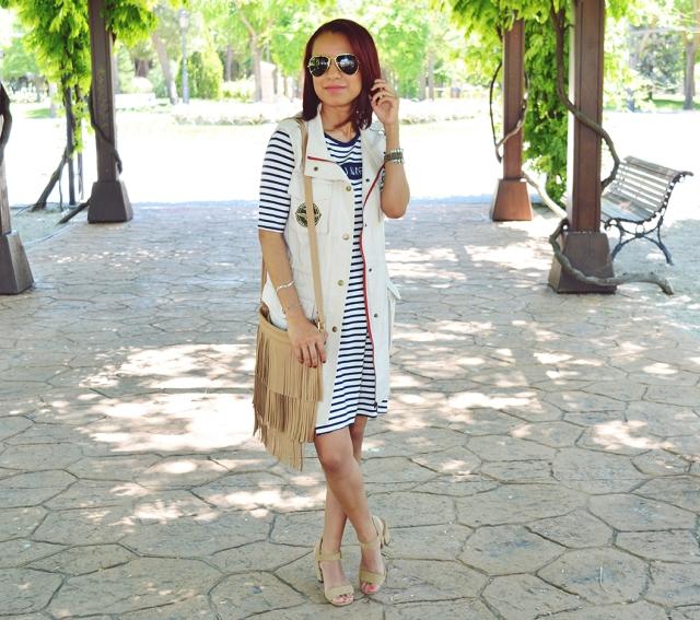 Vestido de rayas 9