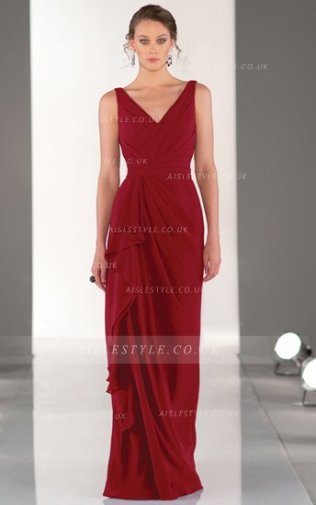 Vestido rojo de invitada boda