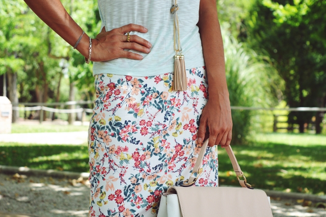Falda de flores 15