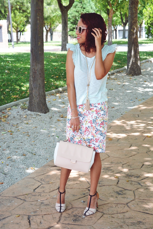 Falda de flores 3