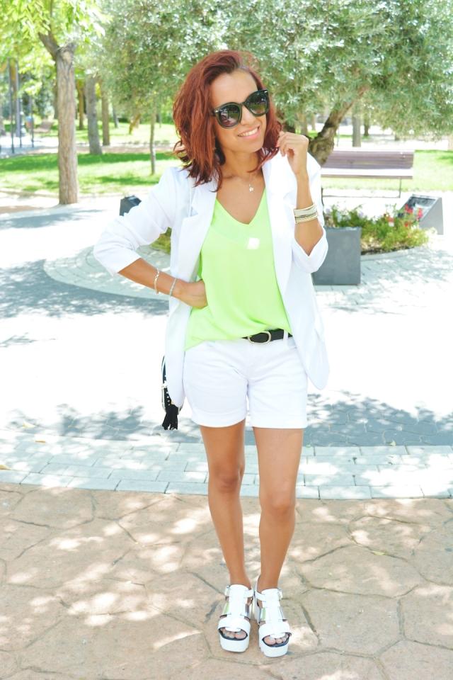 Look blanco y Neon 13