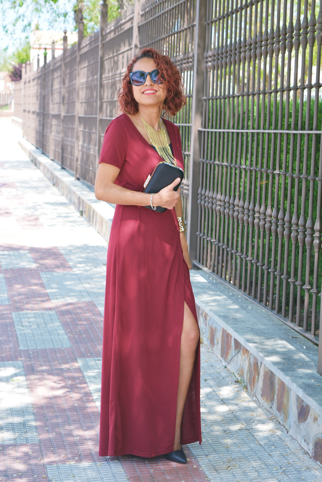 Vestido rojo formal