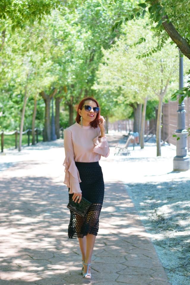 Look formal con falda