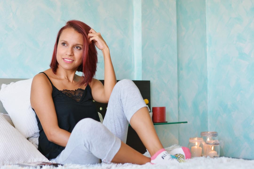 Pijama con top lencero