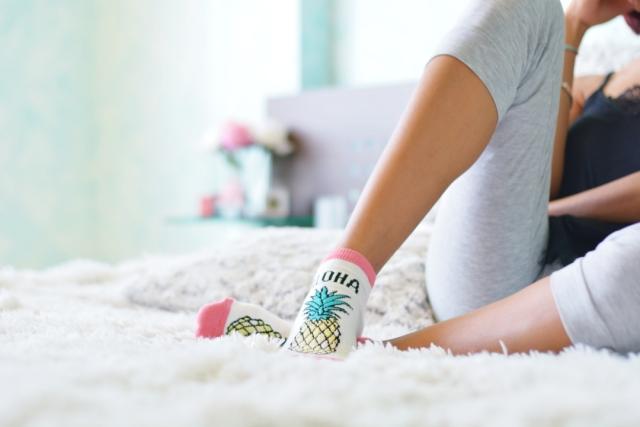 Pijama y calcetines Hunkemoller
