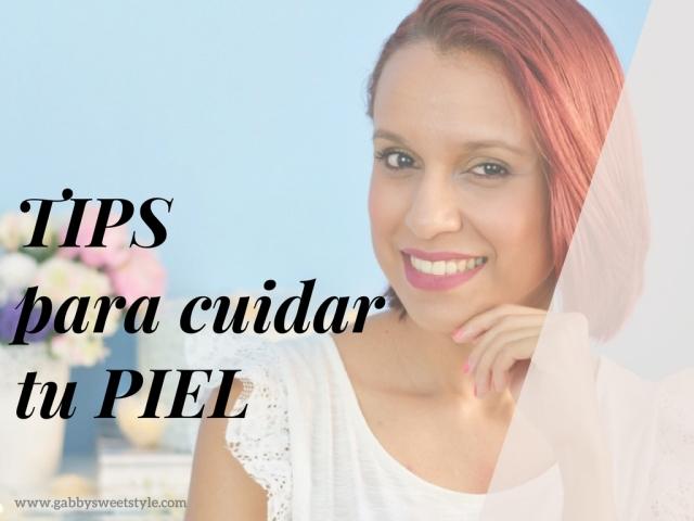 Tips para cuidados de piel