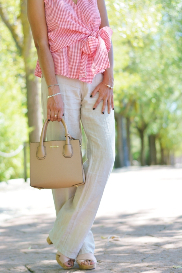 Zapatos plataforma corcho y bolso mini