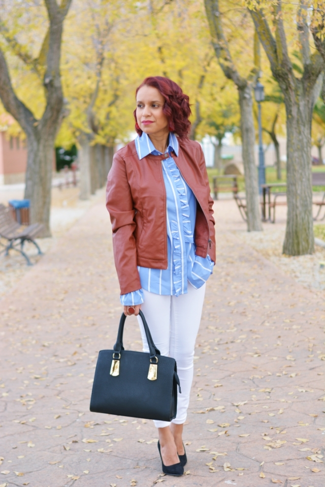 Outfit casual de otoño