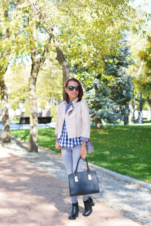 Outfit casual para otoño