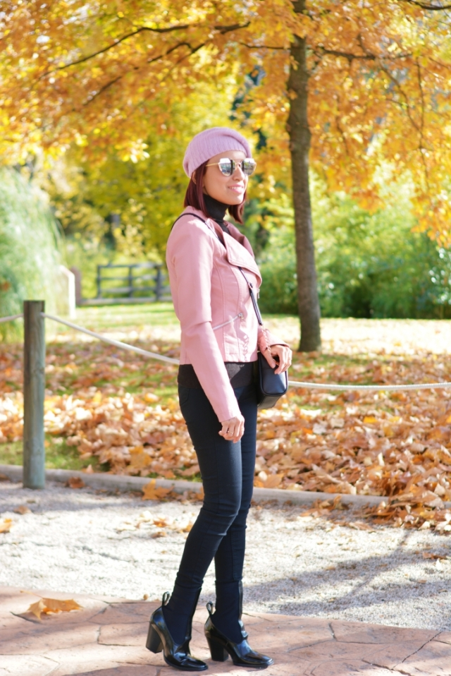 Look de otoño con boina