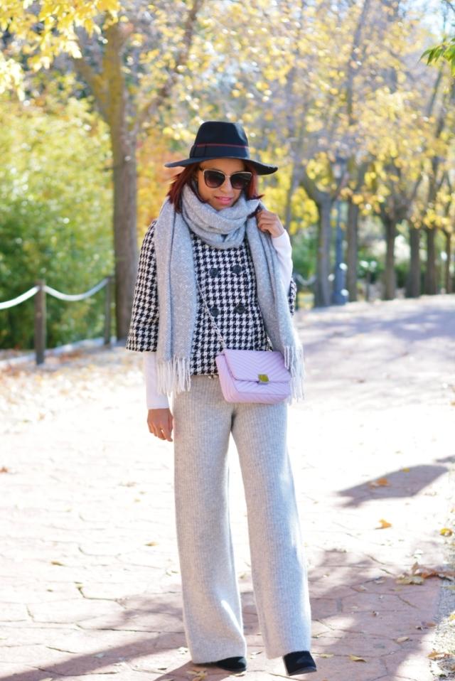Outfit con Pantalones de lana