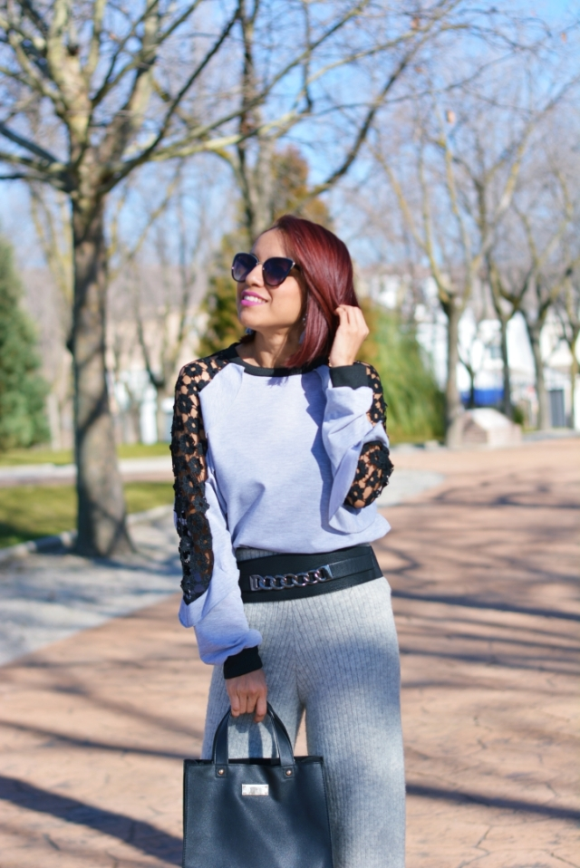Look en color gris