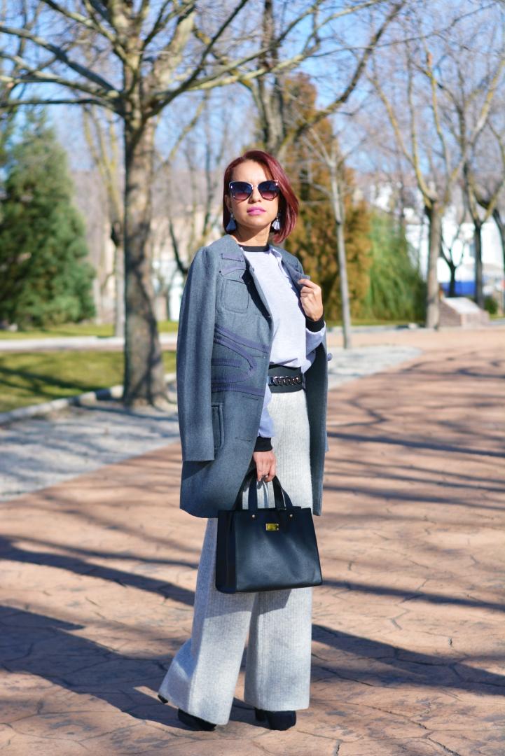 Sudadera y pantalón de vestir