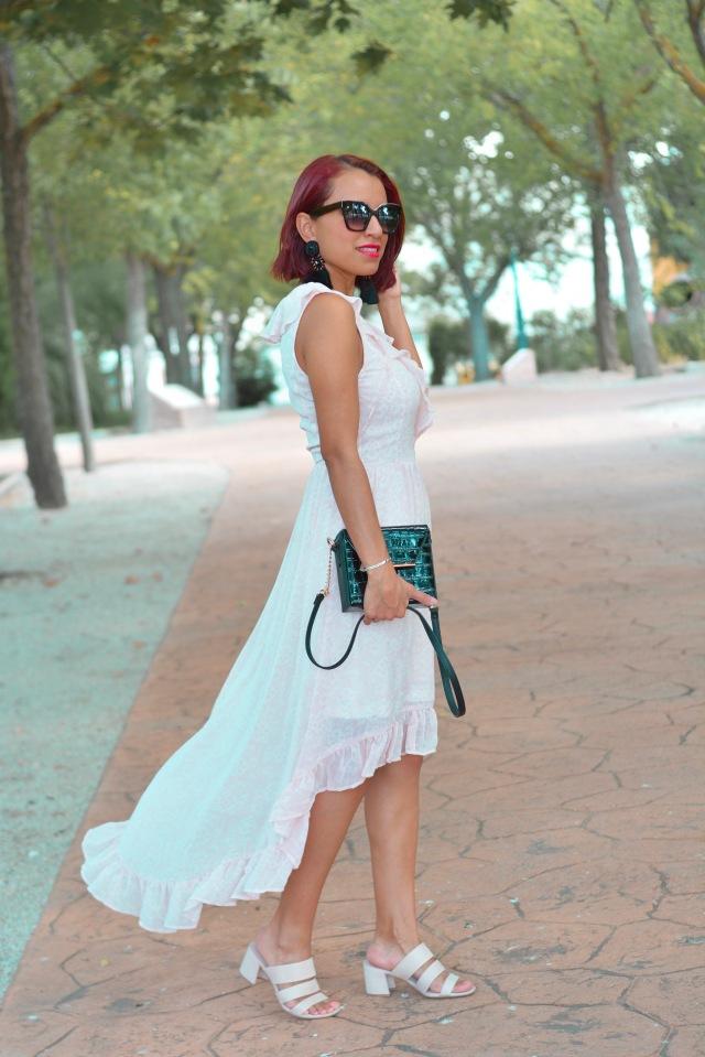 Vestido asimétrico